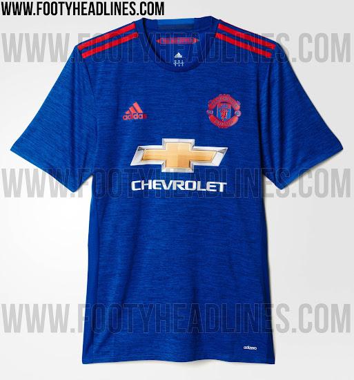 promo code 5694e 04cb0 Manchester United 16-17 Away Kit Released - Footy Headlines