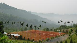 Thi Công sân tennis đất nện của Limonta