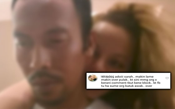 Video Aksi 'Berahi' Dengan Suami Dikecam, Ini Jawapan Siti Sarah