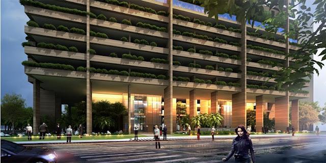 Cảnh quan FLC Green Apartment