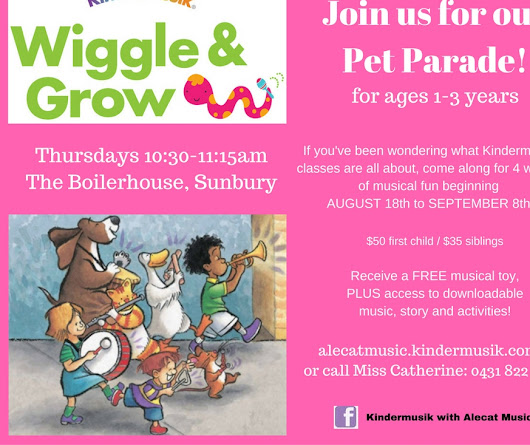 Join us for our Pet Parade!