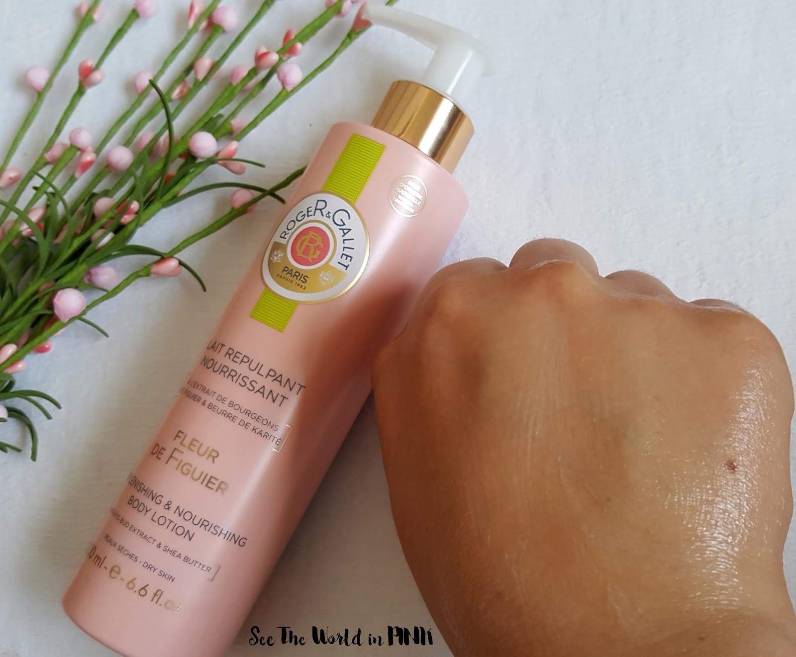Skincare Sunday - Roger & Gallet Fleur de Figuier Replenishing & Nourishing Body Lotion Review!