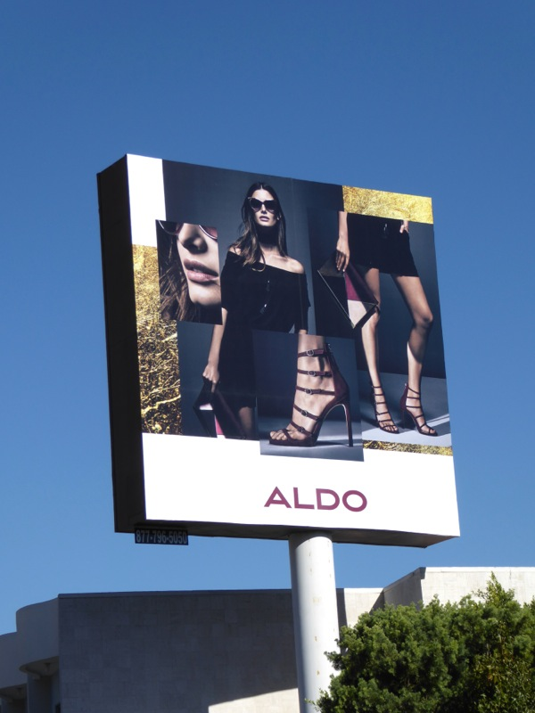 Aldo shoes FW 2016 billboard