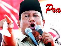 Prabowo Sebut Wartawan Hanya Anteknya Orang Yang Mau Menghancurkan Negeri ini