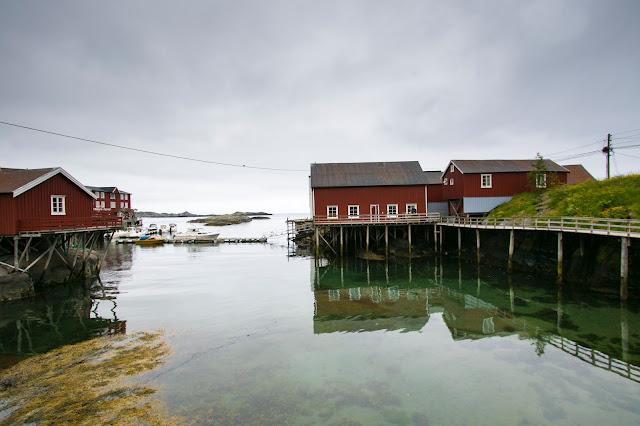 Rorbuer-A i Lofoten-Isole Lofoten