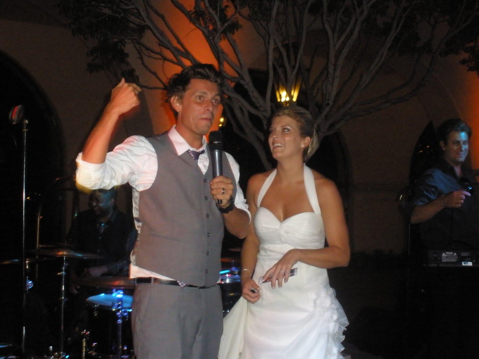 Santa Barbara Wedding Bands Nick Deena 8 20 11 Fess Parker In