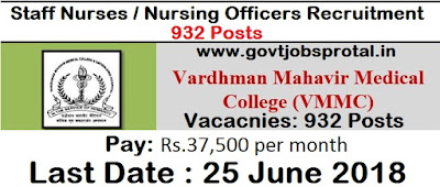 nursing vacancy
