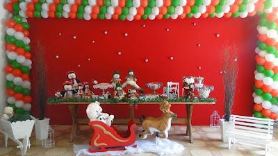 Resultado de imagem para aniversário no natal decoração