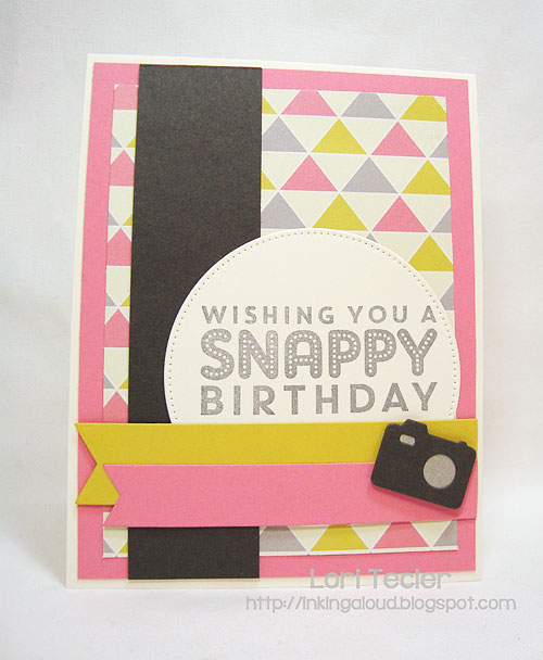 Snappy Birthday-designed by Lori Tecler-Inking Aloud-stamps and dies from My Favorite Things