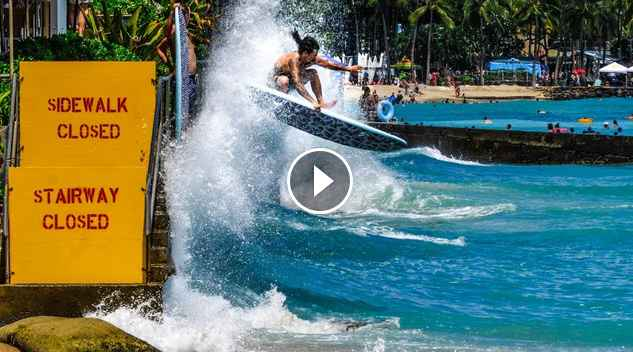 PARTY WAVES BOARD TRANSFERS IN HONOLULU