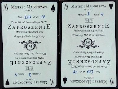 musical grupa VERDE Mistrz i Małgorzata