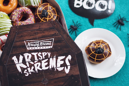 NEW FOOD ALERT: HALLOWEEN DOUGHNUTS HAVE LANDED AT KRISPY KREME