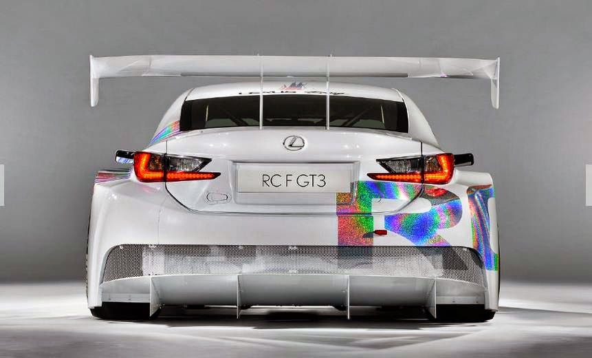 2015 Lexus RC F GT3 Concept Review