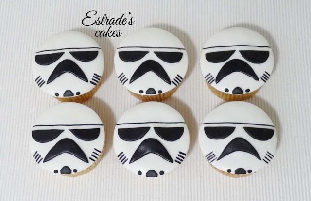 cupcakes de Star Wars 1