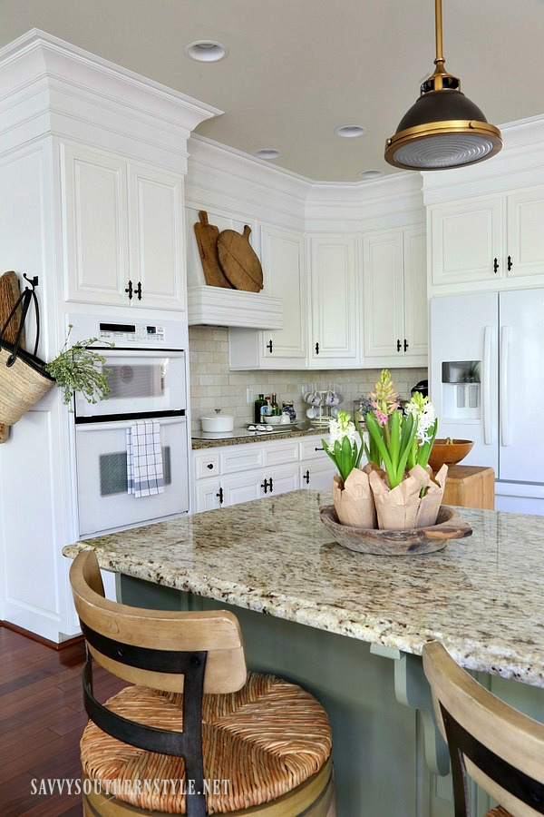 Savvy southern style the kitchen reveal take two for Southern style kitchen ideas