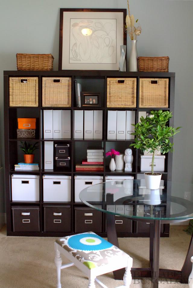 Genius Idea Ikea Expedit Shelves With Baskets For Storage: Operation Organization: Professional Organizer Peachtree