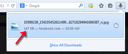 How to download facebook image in high quality - Free Of