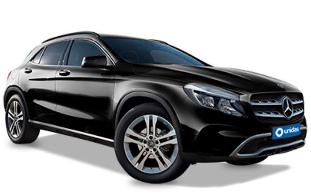 Mercedes-Benz GLA Unidas - locação