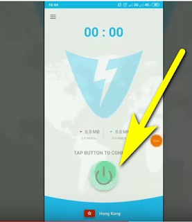 تطبيق Lightning VPN free unlimited لتشغيل الأنترنت مجانا على الأندرويد