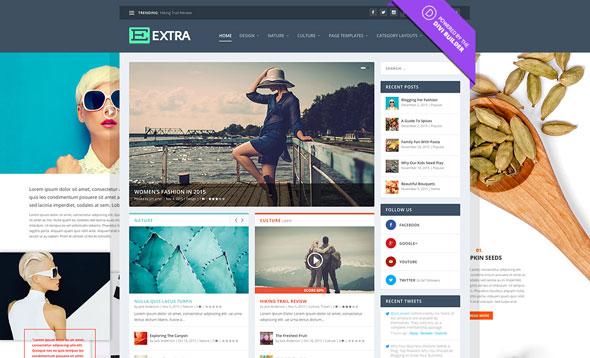Nulled Extra v2.0.1 – Elegantthemes Premium WordPress - SEO TEMPLATES