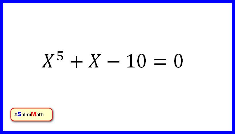 أوجد حل المعادلة التالية دات المجهول الواحد X عالم الرياضيات