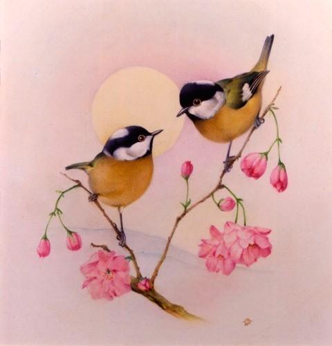 pássaro rosa