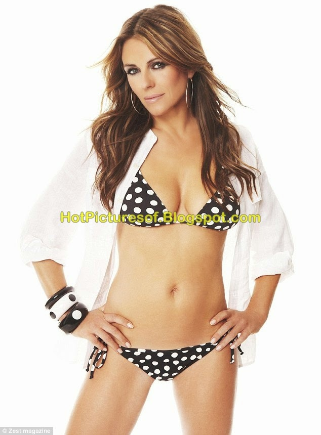 Elizabeth Hurley of Hot Pictures