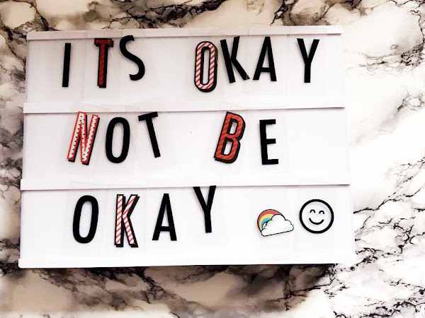 It's okay, not to be okay.