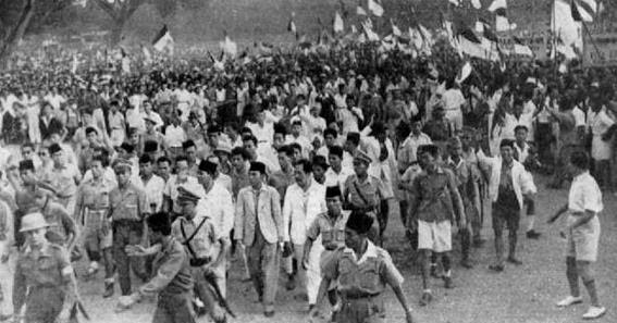 Dukungan Terhadap Proklamasi Kemerdekaan Indonesia