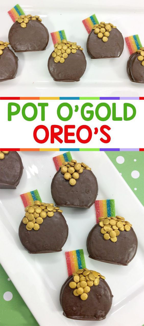 Pot of Gold Oreos