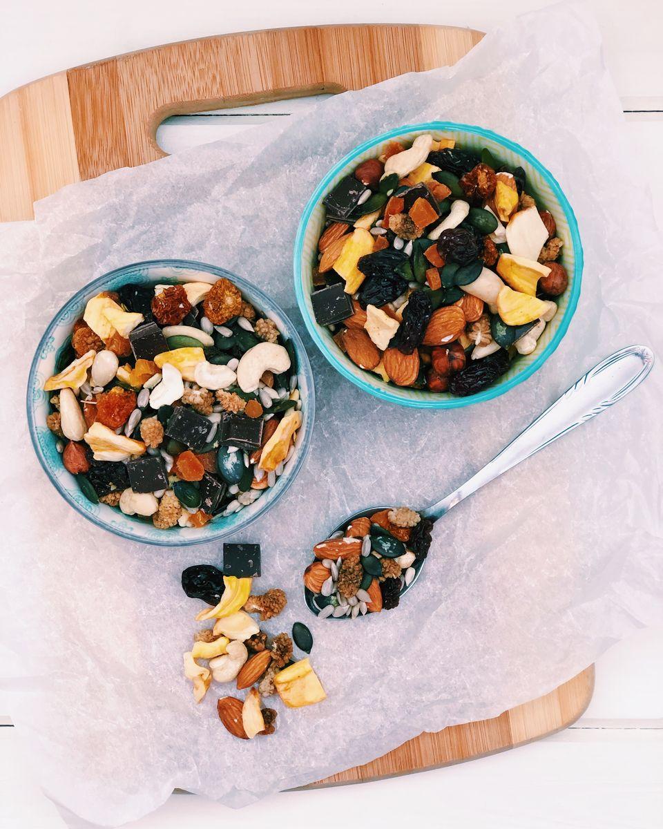 Fruit and nut mix, czyli przekąska idealna.