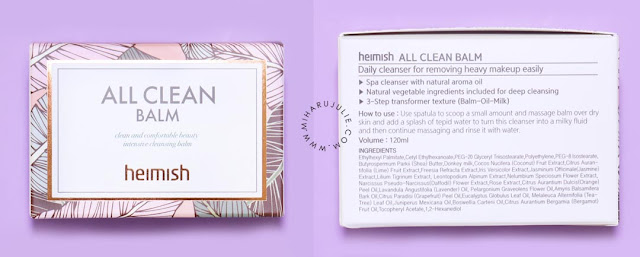 heimish all clean balm korea