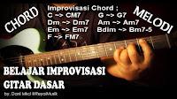 Teknik Improvisasi Melodi Gitar Dan Chord Gitar