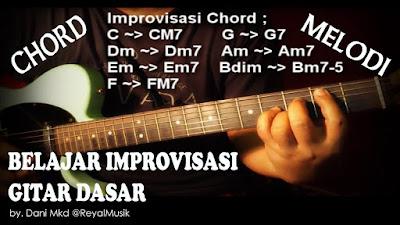 Cara Bermain Improvisasi Gitar Dasar Untuk Pemula