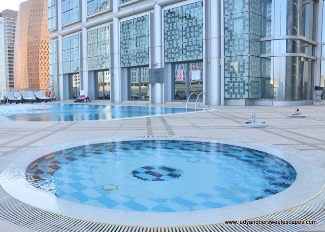 kiddie pool at Capital Centre Arjaan by Rotana