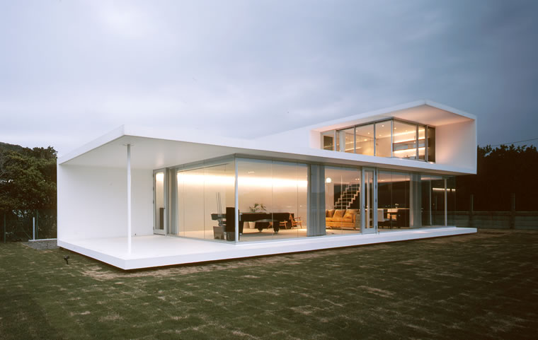 Hogares frescos modelos de casas minimalistas para un - Casas de diseno minimalista ...