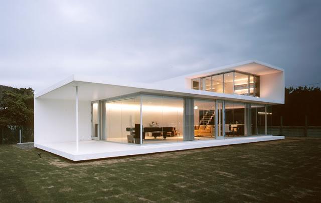 Hogares frescos modelos de casas minimalistas para un for Casa minimalistas