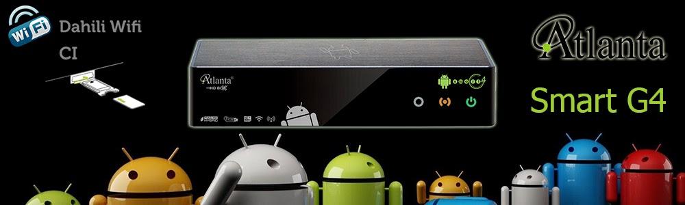 Atlanta Smart Box G4 Android İşletim Sistemli Akıllı Full HD Uydu Alıcı