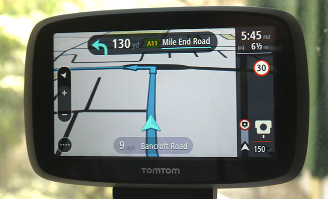 TomTom Go 500 speed camera warning