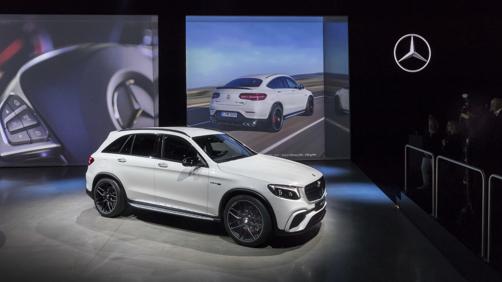 New Mercedes Amg Glc 63 Premieres In All Its Twin Turbo V8 Glory Carscoops