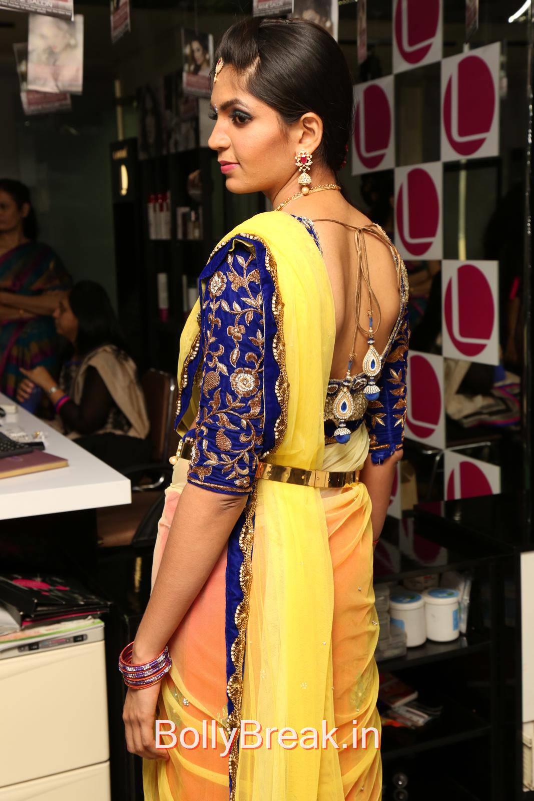 Anusha Photoshoot Stills, Anusha Hot Pics from Bridal Dream Make up At Lakme Salon