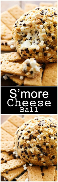 Delicious S'more cheese Bal For Dessert