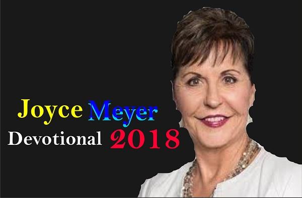 Joyce Meyer JANUARY 17, 2018