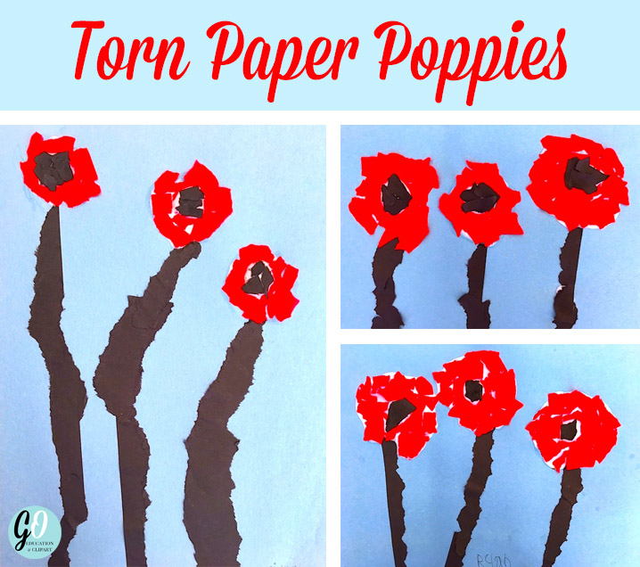 Easy and thoughtful ideas for Remembrance Day in first grade. GradeONEderful.com