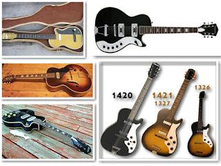 гитары Silvertone-Harmony