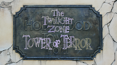 disney california adventure christmas hollywood tower terror