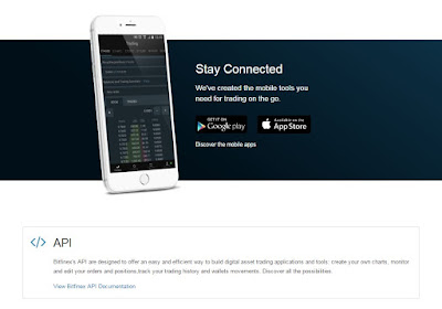 Bitfinex - iOS / Android App & API - Seamless Trading On The Go
