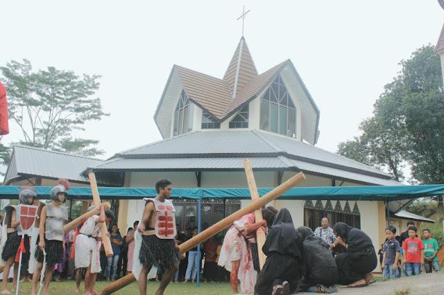 Tablo Jumat Agung 2019 OMK Nanga Taman