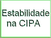 Estabilidade na CIPA