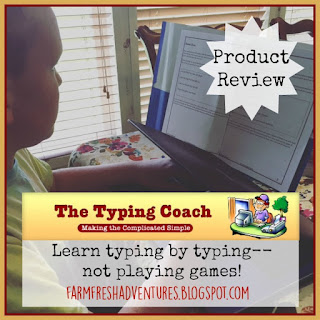 The Typing Coach Online Typing Course {Product Review}